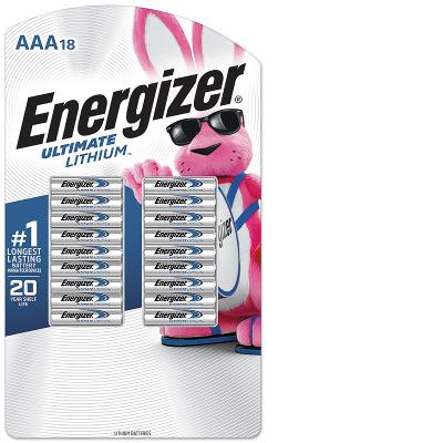 Energizer Ultimate Lithium AAA Batteries 18 ct.