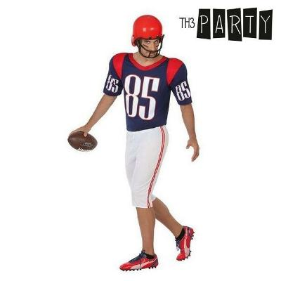 Costume for Adults Rugby player (2 Pcs)