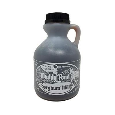 Muddy Pond Sorghum Mill Sorghum Syrup, 1 Pint, Net Wt. 24 Ounces (680 grams)