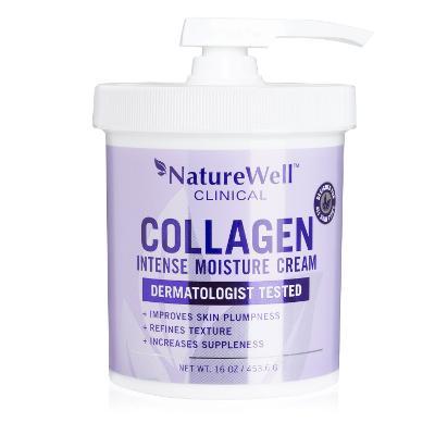 NatureWell Clinical Collagen Intense Moisture Cream 16 oz / 453.6 g