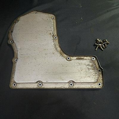 2006 Cobalt Automatic Transmission Bottom Drain Pan with Mounting Bolts