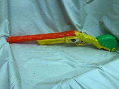 Toy Gun Dart Buzz Bee Double Shot Gun