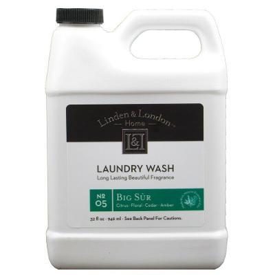 Linden & London Big Sur Laundry Detergent 32 Ounces
