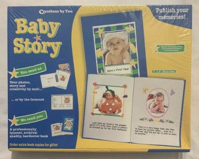 Creations By You Baby Story~Create Publish Your Own Book~Photos Memories FreeSH