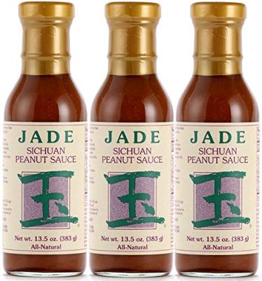 Jade All-Natural Sichuan Peanut Sauce, 13.5 oz., 3 Pack