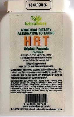 Natural Herbal Alternative to Taking HRT 60 Capsules Buy 3 Get 1 Free!