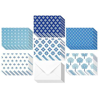 48 Pack All Occasion Assorted Blank Note Cards Greeting Card Bulk Box Set - of -