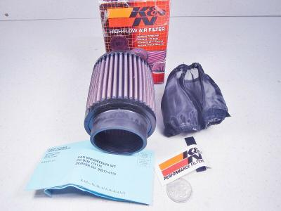 RB-0910 Air Filter Universal Early Type Fuel Inj stack 5 Deg Flg 4-5/16 Od 5 Id3