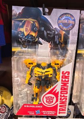 Universal Studios Exclusive Transformers The Ride 3-D Bumblebee Action Figure