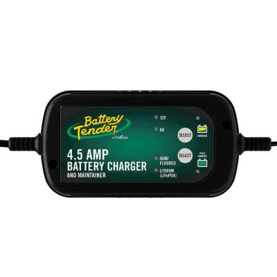 4.5 AMP SMART Battery Charger & Maintainer| Auto & Marine Use| 12V & 6V Selector