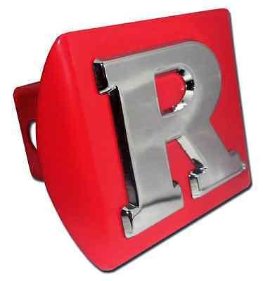 """Rutgers (""""R"""") Red Hitch Cover"""