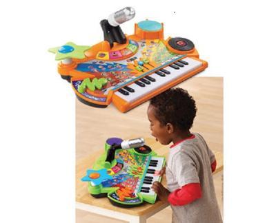 Kids,Toddler Musical Developmental Toy Record and Learn KidiStudio w Mic