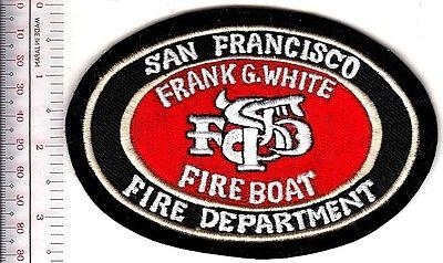 Fire Boat California San Francisco Fire Department the Frank G White Fire Tug