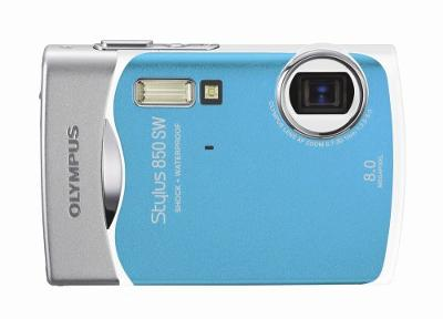 Olympus Stylus 850SW 8MP Digital Camera with 3x Optical Zoom (Blue)