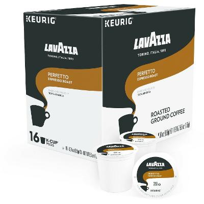 Lavazza Perfetto Coffee 16 to 96 Keurig K cup Pods Pick Any Quantity FREE SHIP