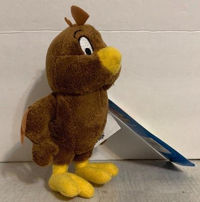 """Six Flags Magic Mountain Exclusive Looney Tunes Henery Hawk 6"""" Small Plush New"""