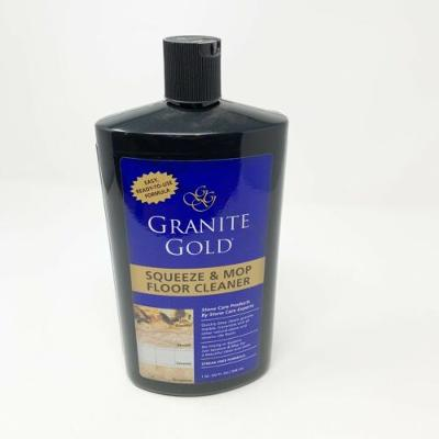 32 oz. Squeeze and Mop Floor Cleaner By Granite Gold Maintains Shine