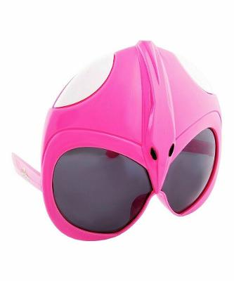 Power Rangers - Sunstaches Ranger Shades Sunglasses Costume Accessory Pink