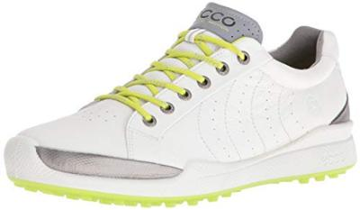 Ecco Men S Biom Hybrid Hydromax Golf Shoe White Lime Punch 9 Uk 43 Eu Sporting Goods Truegether