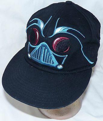 Lucasfilm Star Wars Angry Birds 2 Darth Vader Black Embroidered Baseball Hat Cap