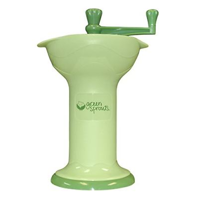 green sprouts Fresh Baby Food Mill   Easily purees food for baby   Seperates &