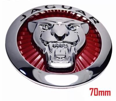 Jaguar Red 70mm Growler grill badge emblem for xe, xf, f-pace, f-type