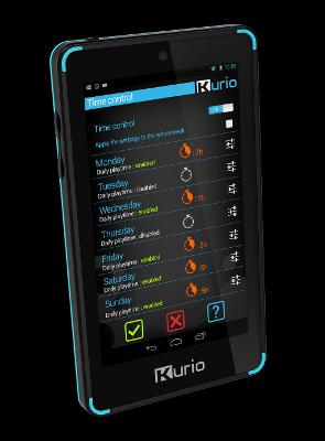Kurio Touch 4S Mini Tablet - Black