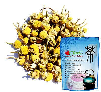 Chamomile Tea, Decaffeinated, Soothing Tea, Perfect for Relaxing, Loose Leaf Tea