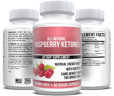 Raspberry Ketones Extract Recommended Brand Weight Loss - 1 Bottle