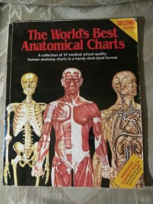 The World's Best Anatomical Charts Second Edition 1995 Perforated Tear Out...