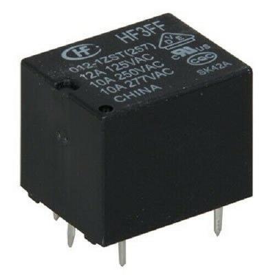 12VDC, 10A SPDT Relay Hongfa (HF3FF/012-1ZST)