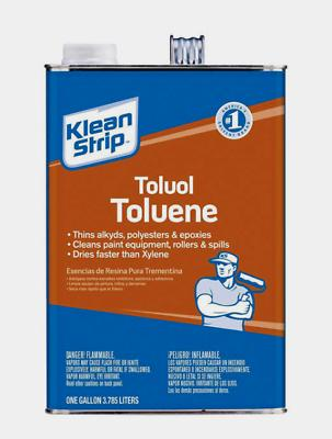 NEW!! Klean Strip TOLUENE Thins Alkyds Polyesters 1 Gallon GTO42 (NO CA SALES)