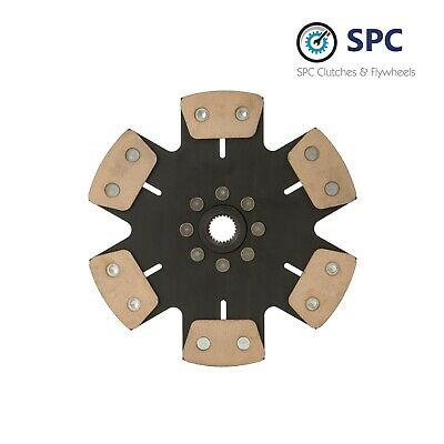 SPC STAGE 4 CLUTCH DISC Fits 1990-4/1992 PLYMOUTH LASER RS 2.0L TURBO FWD 6BOLTS