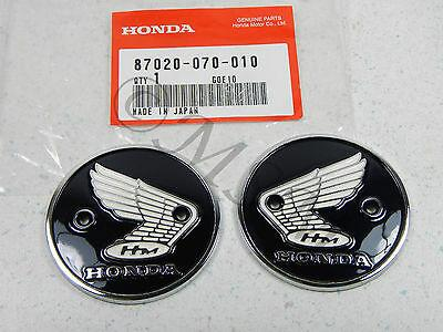 S90 CL90 CB92 CA200 CA95 CB160 Honda Gas Fuel Tank Emblem Badge Set 5030-001