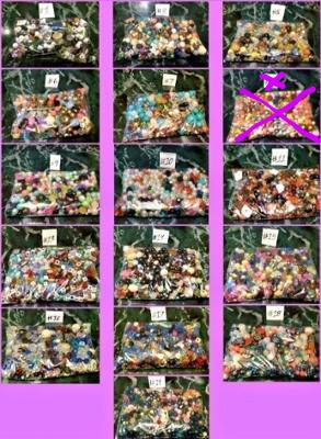 Vintage Assorted Beads CHOOSE ONE BAG High Quality Durable *RARE*