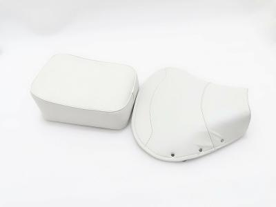 New VESPA VBB,SUPER,PX,RALLY FRONT AND REAR SEAT COVER SET WHITE