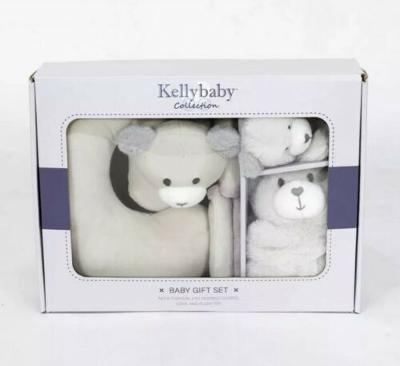 Kellytoy Baby and Toddler Learning Toys Neck Cushion Seat Belt Covers Lovie Bear