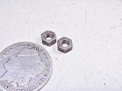 78 SUZUKI DR370 DR 370 FRONT/RIGHT/LEFT SEAT SADDLE GUIDE BRACKETS MOUNTING NUTS