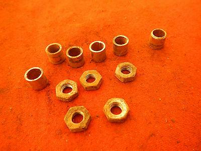 AIR BOX TO CARB RUBBER BOOT MOUNT NUTS SPACER 1983 XR500R XR500 XR 500R 500 R