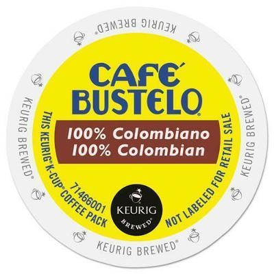 Cafe Bustelo 100% Colombian Coffee 24 to 144 K cups Pick Any Size FREE SHIPPING