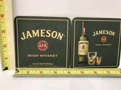 Jameson Irish Whiskey Logo Cardboard Coasters Pack of 50