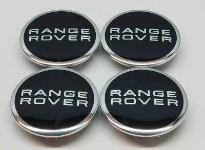 Range Rover 60mm Alloy Wheel Centre Caps x4