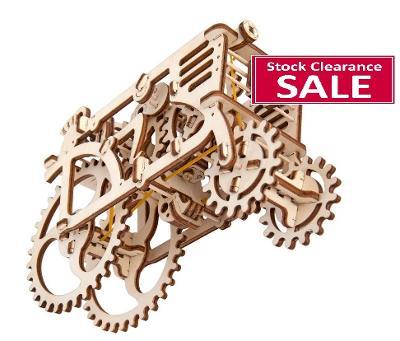 Christmas Sale Tractor - UGEARS 3D mechanical wooden model
