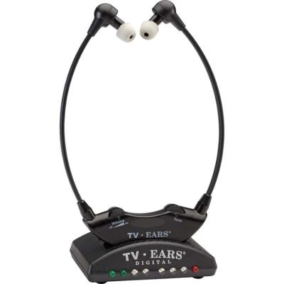 TV Ears Digital Wireless Headset System, Connects to Both Digital and Analog TV