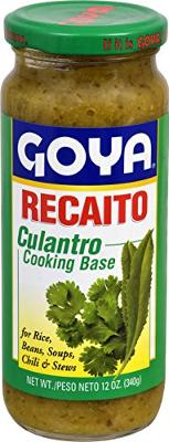Goya Foods Recaito Cilantro Cooking Base, 12 Ounce (Pack of 24)