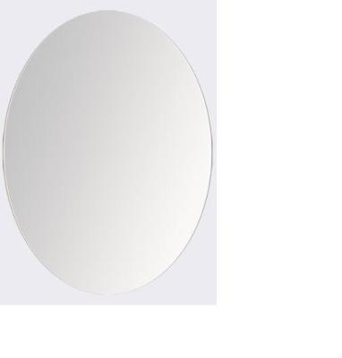 """Ronbow Mirror M8012-Oval Frameless Mirror Overall: 17 15/16"""" W x 23 13/16"""" H"""