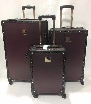 Vince Camuto JANIA 3PC Luggage set Harside Black