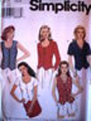 7121 UNCUT Vintage Simplicity Pattern Misses Top Shirt Blouse SEWING OOP HTF