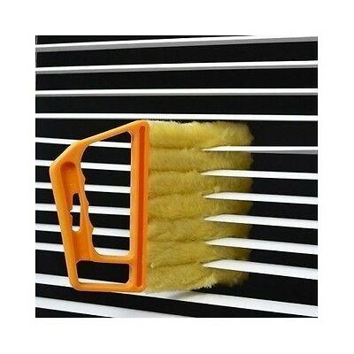Venetian Blinds Duster Vertical Blind Cleaner Dust Cleaning 7 Prongs Brush Slats
