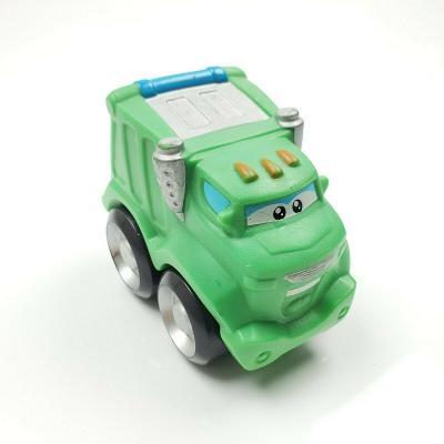 Tonka Chuck and Friends Big Racin Rowdy Soft Squishy Green Garbage Truck
